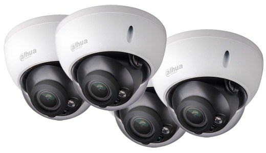 dahua-720P-Vandal-proof-IR-HDCVI-Dome-Camera's